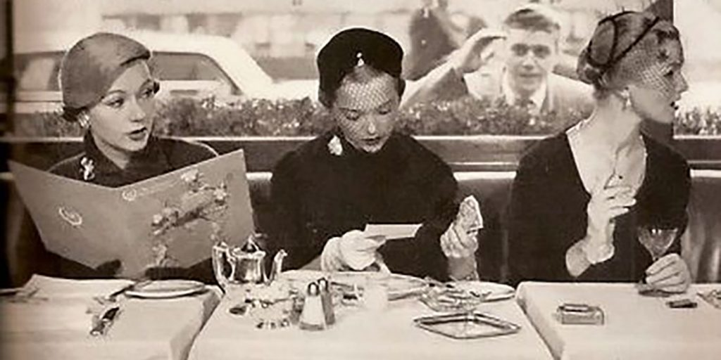Image of ladies who lunch - from the 40s