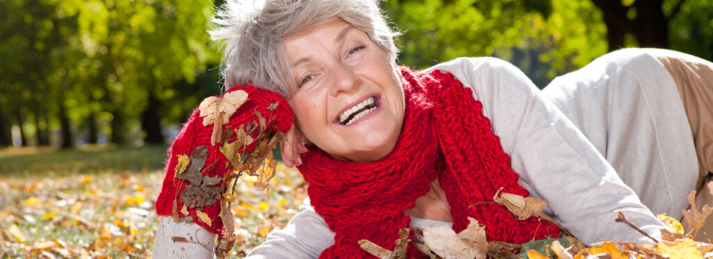Happy at any age autumn