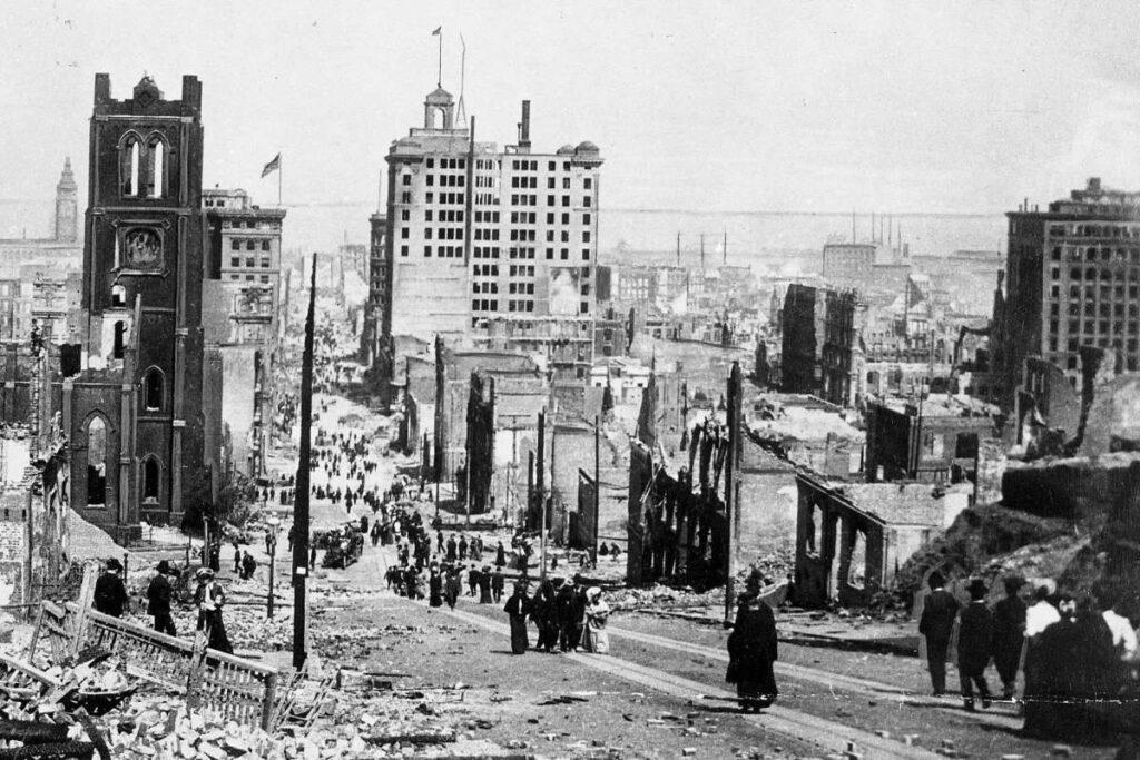 Survivors from San Francisco Earthquake SF Chronicle