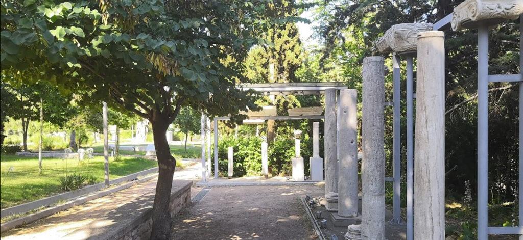 The Lyceum Gardens Athens the peripatos